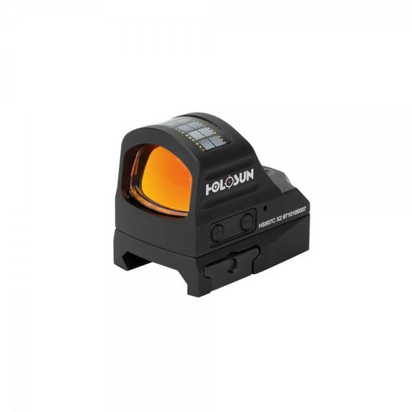 HOLOSUN HS-507 C-X2 für Glock MOS Kreis-Rotpunktvisier
