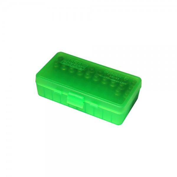 MTM Patronenbox P50 Serie mit Klappdeckel